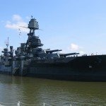 Battleship Texas Band Aids: Leaks Plugged With Glue and Tinfoil