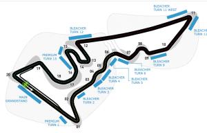 formula one track