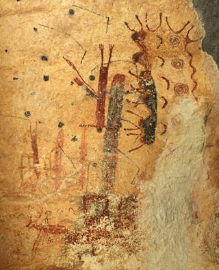 Ancestors slay the peyote deer