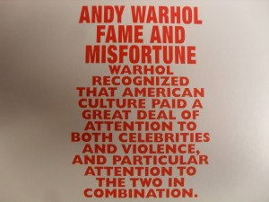"""If you caught """"Andy Warhol: Fame and Misfortune"""" at the McNay in San Antonio, you probably won't need to read this article."""