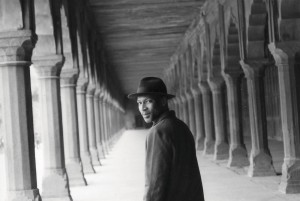 """In the Corridor,"" photograph of Radcliffe Bailey by Victoria Rowell."