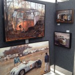 Santiago Michalek's booth at Aspen Art Festival