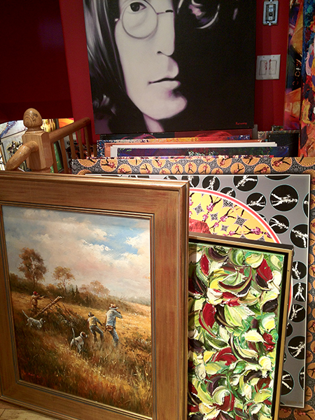 A gallery in Aspen.