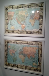 """Sandow Birk, """"Conservative and Liberal Maps of America."""""""