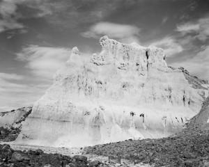 Eroding Ash and Lava Rocks, 1985