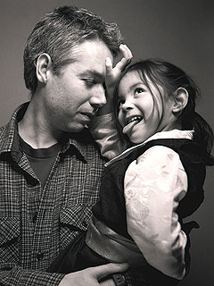 MCA and daughter, photo courtesy of POlaris.