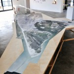 "Galveston Artists Residency, Mapping Galveston, ""Orthomap,"" 2012"
