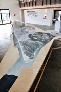 "Galveston Artists Residency, Mapping Galveston, ""Orthomap,"" 2012"