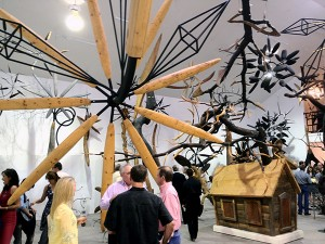James Surls Second Annual Studio Exhibition, 2012.