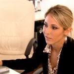 "Liz doing ""work"". Image from Bravo.com"