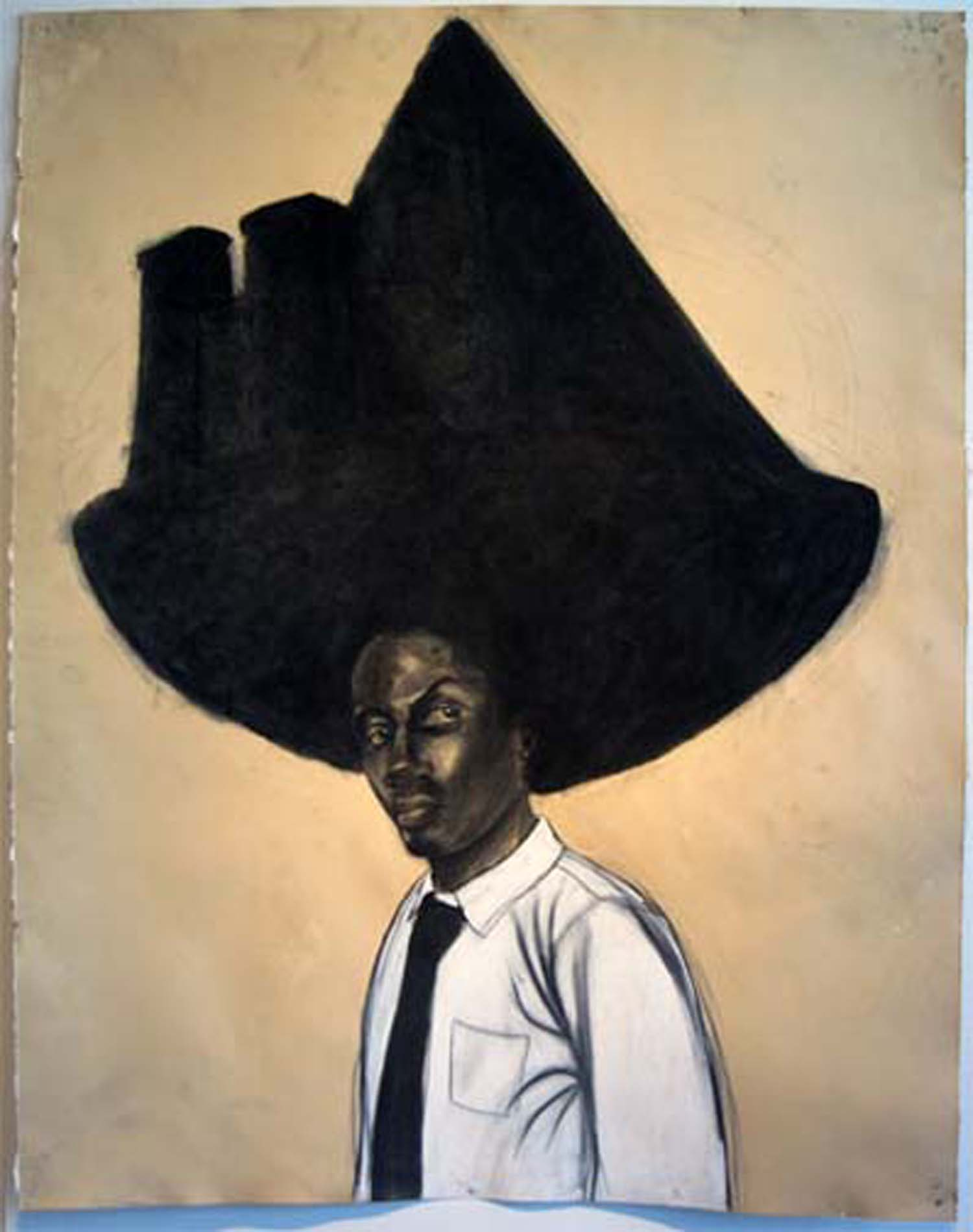 "Robert Pruitt, ""Stone Cut,"" 2011