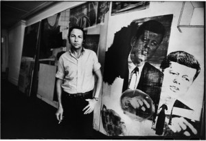 Robert Rauschenberg may have heartily approved such an act, but he's too dead for us to ask him about it.