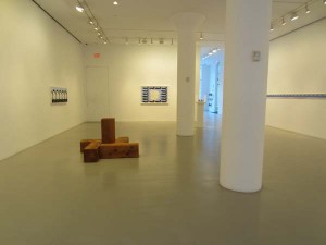 Carl Andre/John Wesley: Serial Forms at Mitchell-Innes and Nash