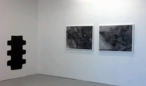 Jeff Zilm and Bret Slater at et al projects, Brooklyn.