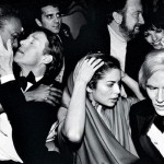 Warhol at a party.
