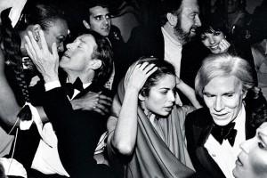 Warhol at a party.