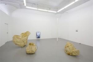 "installation of ""Yeterday Amphoric"" at Regina Rex"