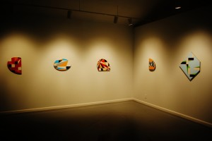 Aaron Parazette, 2012 Texas Artist of the Year, Art League Houston, Installation View