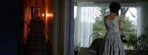 Lorna Simpson Corridor  2003 Double-projection video installation, video transferred to DVD 13 min., 45 sec.