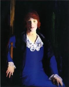 George Bellows, Portrait of Florence Pierce