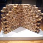 Reishi bricks on view in &quot;Intimate Science&quot; exhibition at Miller Gallery, Carnegie Mellon