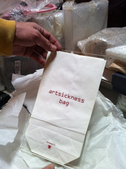 Art Sickness Bag