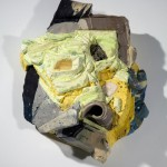 Joy, 2012, plaster, porcelain, paper, pigment, crushed glass, calcite, rose quartz, pyrite