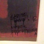 Rothko Vandalized at Tate Modern, Homeless Russian Art Theoretician Arrested
