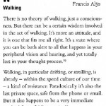 walking alys