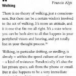 walking alys