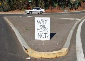 why the fork not