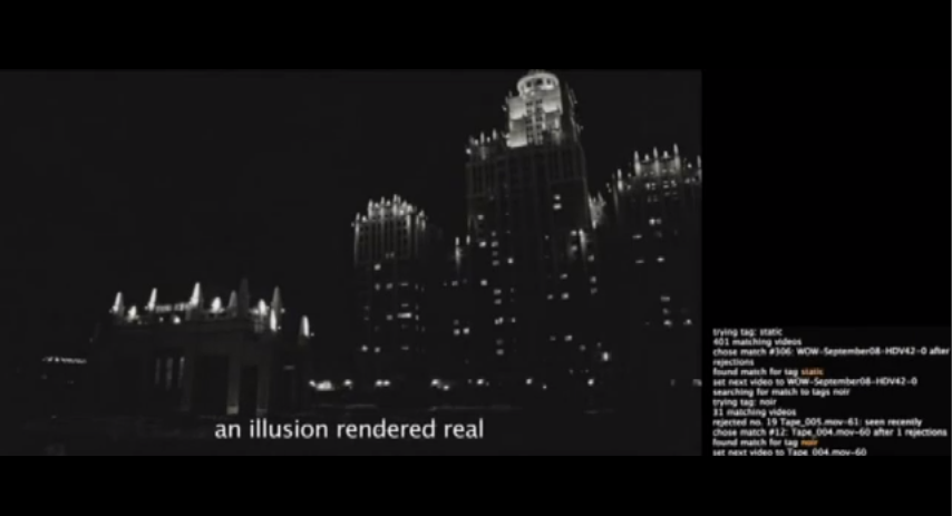 still from Eve Sussman's whiteonwhite:algorithmicnoir trailer