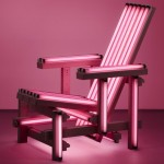 Ivan Navarro's Pink Electric Chair, 2006