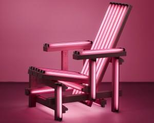 Ivan Navarro's Pink Electric Chair, 2006