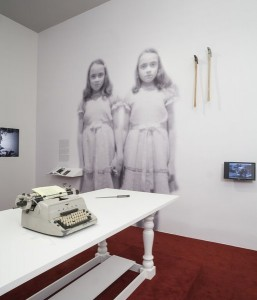 Installation View. Stanley Kubrick, November 2, 2012-June 30, 2013, Los Angeles County Museum of Art. (Photo © 2012 Museum Associates/LACMA)