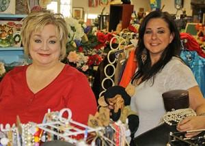 Art Asylum proprietors Ramona Brady and Jennifer McCormick