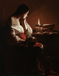 Georges de La Tour The Magdalen with the Smoking Flame, c. 1638-1640