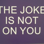 Benjamin H. McVey, &quot;The Joke Is Not On You, No. 1 of 5&quot; (edition of 5), wood and plastic, 2012