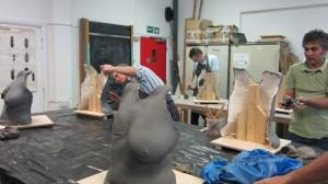 breast sculpture