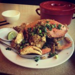 Fried Pacific Crab at Newport Tan Cang Seafood Restaurant