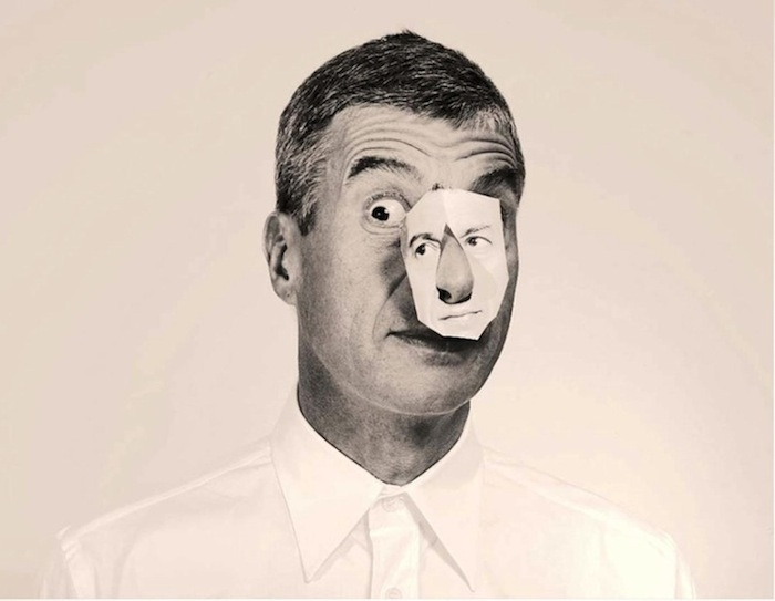 Maurizio Cattelan, Photo: Pierpaolo Ferrari, From Cattelan & Ferrari's Toiletpaper magazine collaboration