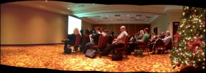 A breakout room at the IFFS.
