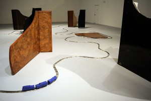 David Hammons' Chasing the Blue Train at The Geffen Contemporary(Photograph: Andy Holzman)