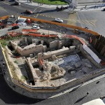 Layer-Cake City: New Roman Excavation Finished, Subway, Under Art Center, Under Traffic Circle