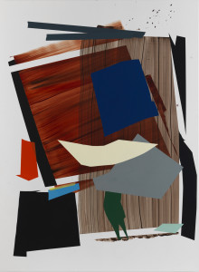 Untitled, 2012, acrylic on board, 84 x 60 inches, courtesy Inman Gallery