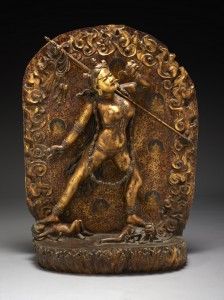 Sarva Buddha Dakini, Sino-Tibetan culture, early 19th century, Courtesy of The Crow Collection of Asian Art