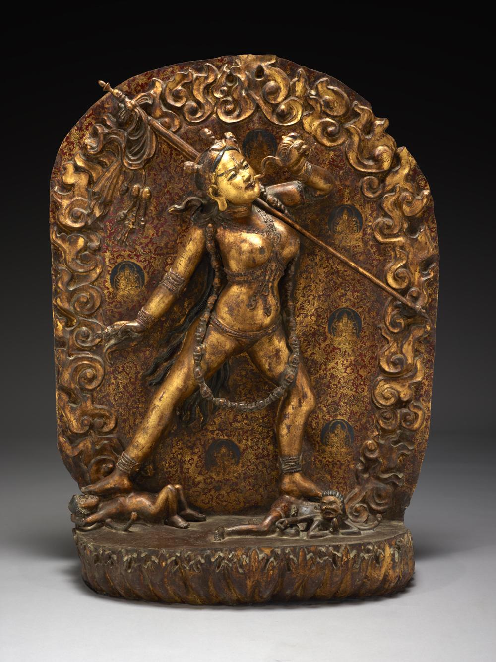 Sarva Buddha Dakini, Sino-Tibetan culture, early 19th century, Courtesy of The Crow Collection of Asian Art