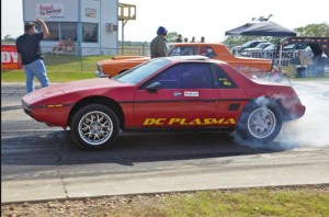 DC Plasma Electric Drag Racer