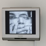 Mona Hatoum, There&#039;s so much I want to say, 1983; Video installation