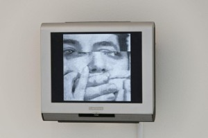 Mona Hatoum, There's so much I want to say, 1983; Video installation